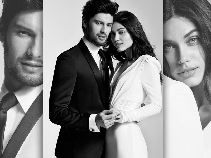 In questa foto le immagini di campagna di Carlo Pignatelli for Pronovias, la nuova collezione di abiti da sposo