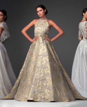 Abiti da sposa Chiara Vitale 2021, una collezione elegante e dal respiro internazionale