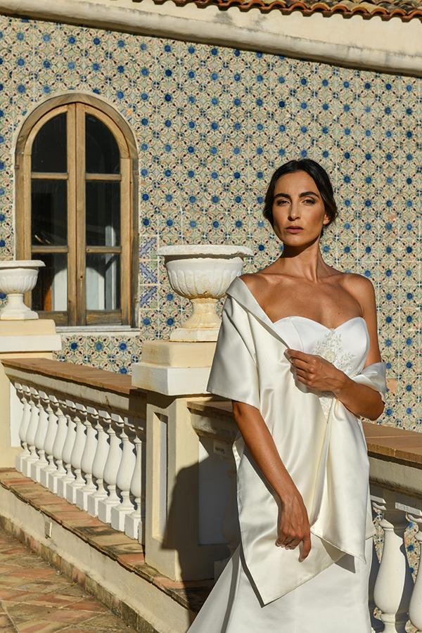 """Un abito della collezione """"Fuga d'amore"""""""
