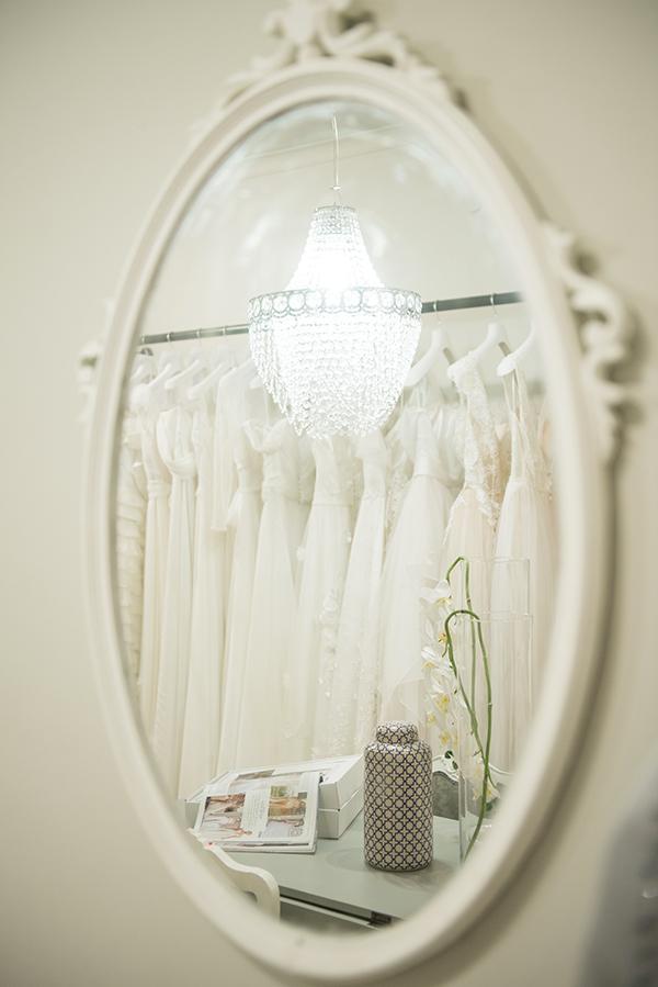 """La collezione Sposa """"Fuga d'Amore"""" presente in atelier"""