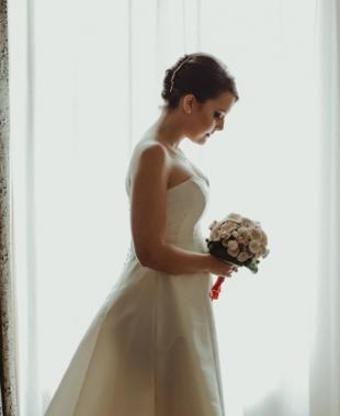 Abiti da sposa Benedetta Laboratorio Moda: nuove collezioni, creazioni sartoriali e modelli ecofriendly