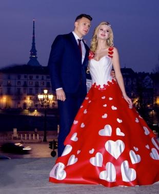 Adele Vasilache di Adelyur Fashion celebra l'amore a San Valentino