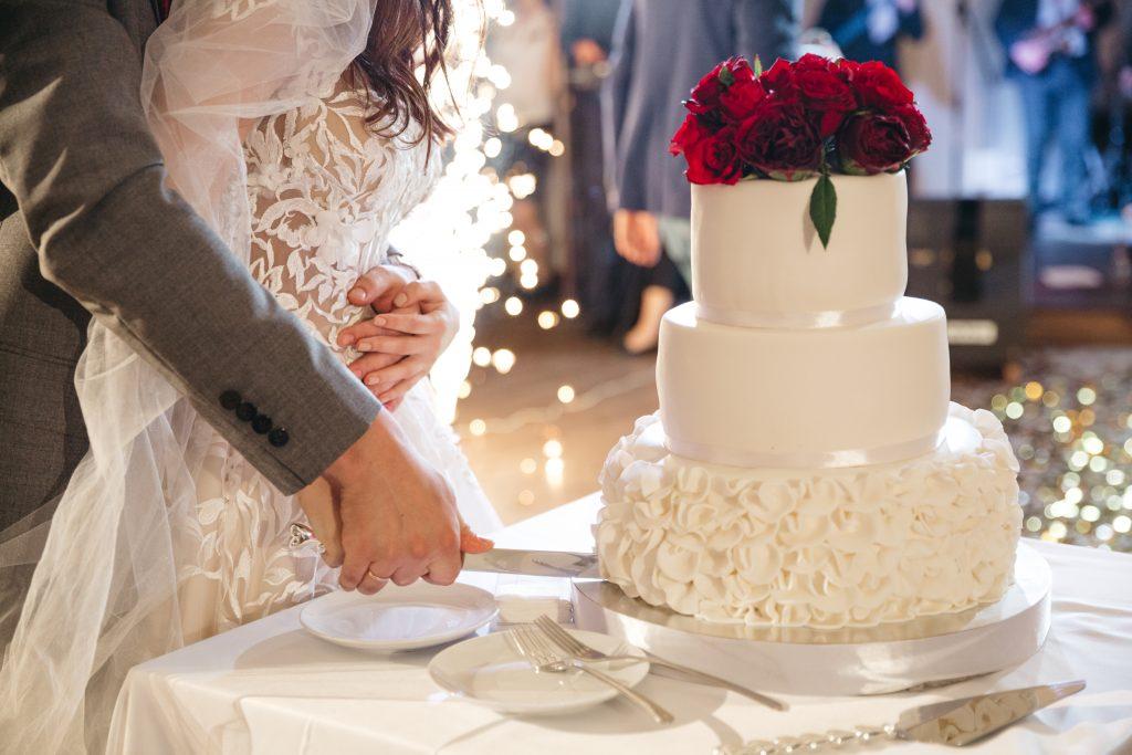 In questa foto wedding cake