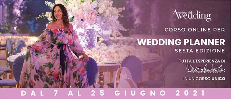 La presentazione del corso online per Wedding Planner con Cira Lombardo