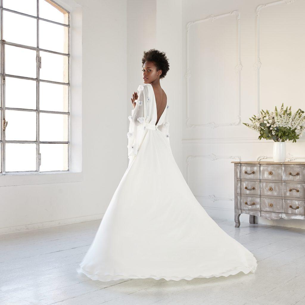 L'abito Afef della collezione sposa Gretel Z.