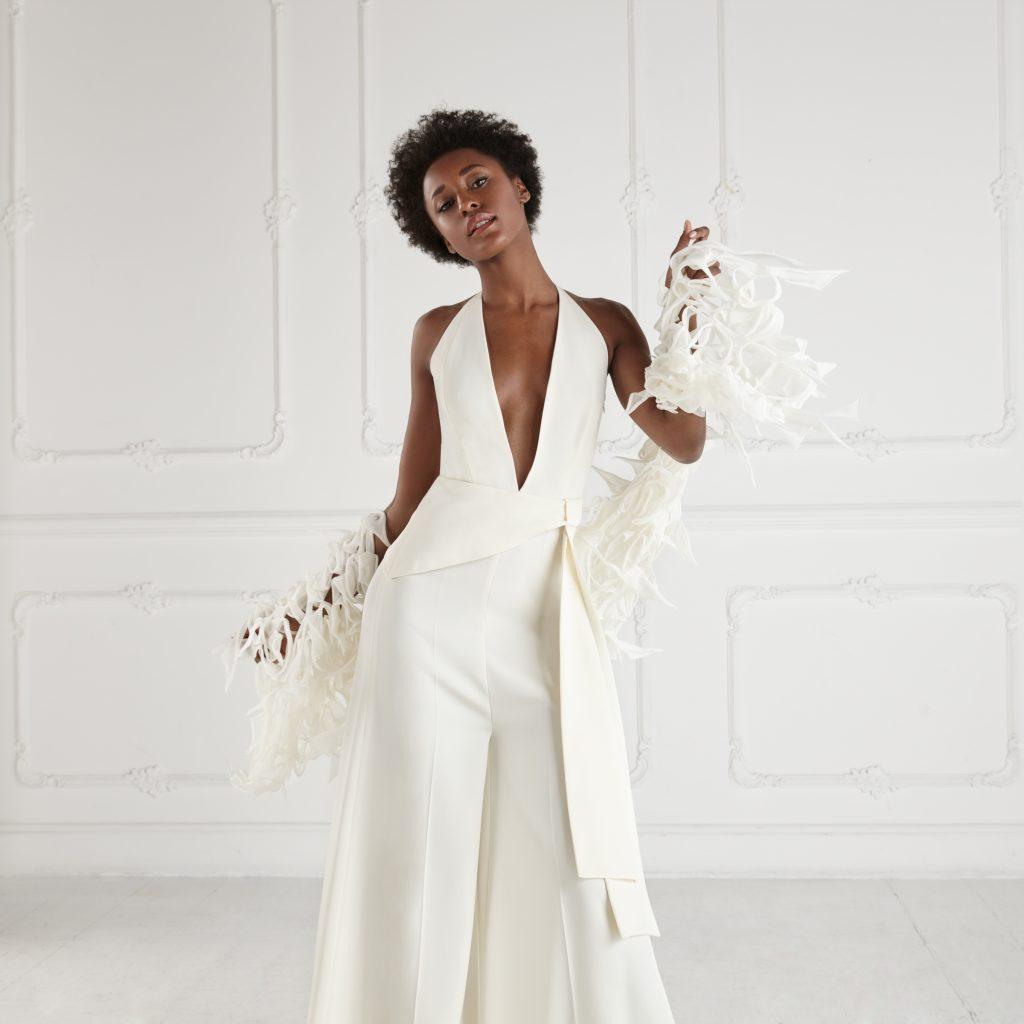 La jumpsuit Megan della collezione sposa Gretel Z.