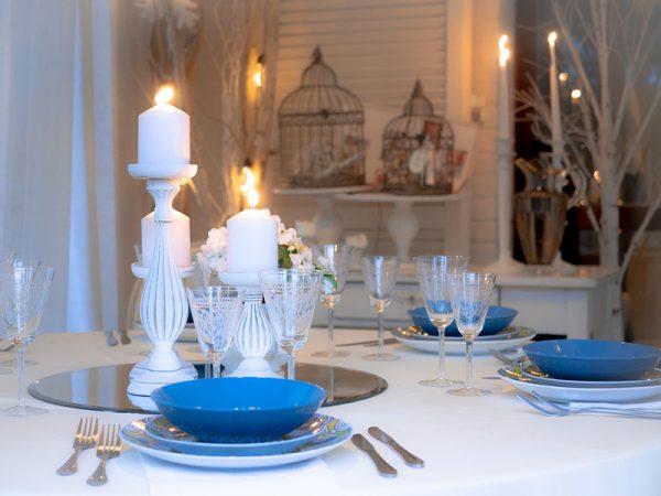 Cena a lume di candela per una proposta di matrimonio organizzata da Paola Maravalle