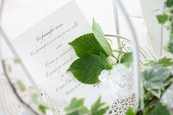 Un messaggio romantico da esibire durante una proposta di matrimonio
