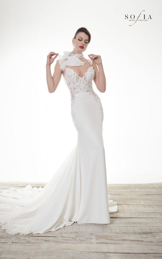 In questa immagine un abito della collezione Sofia Haute Couture 2022