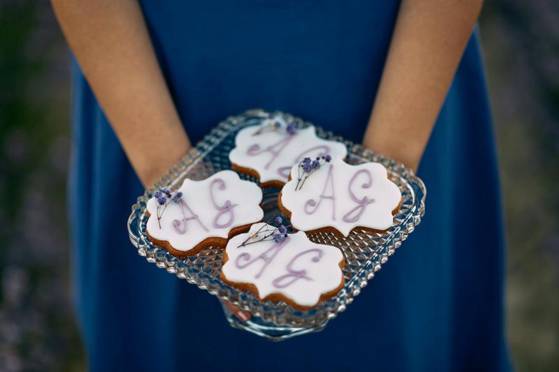 I dolcetti preparati per la proposta di matrimonio di Andrea a Giorgia
