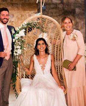 Le nozze di Marta e Roberto: lo stile minimal chic di Antonella Candido