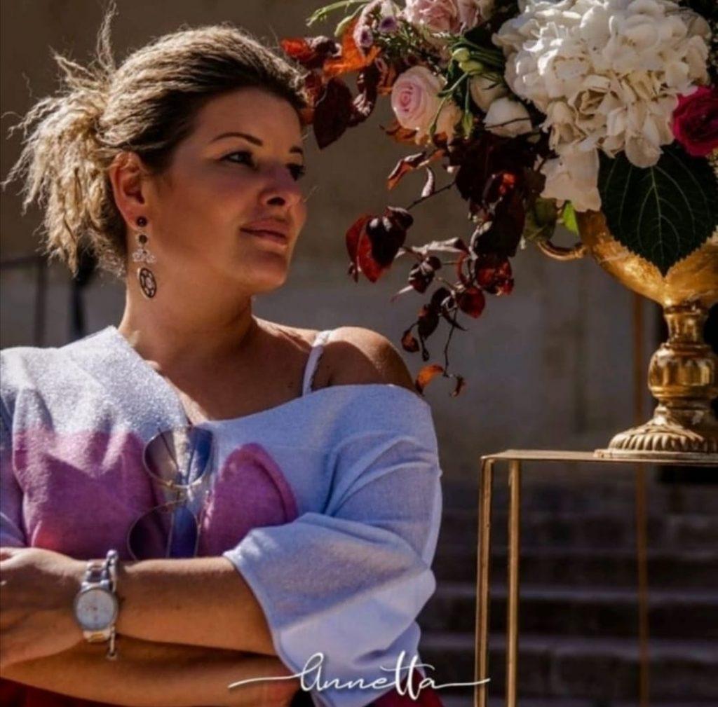 In questa foto la Wedding Planner Anna Pia Siracusa