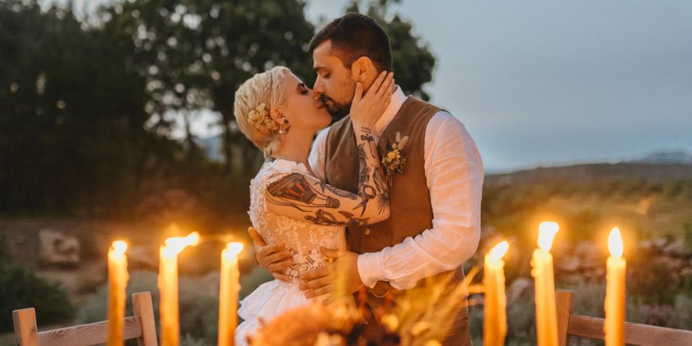 In questa foto lo shooting realizzato da Lace&Love Weddind and Events