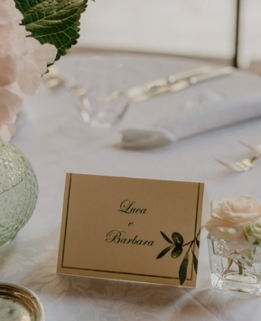 Nozze rustic-chic di Valeria Fazio per un matrimonio di classe