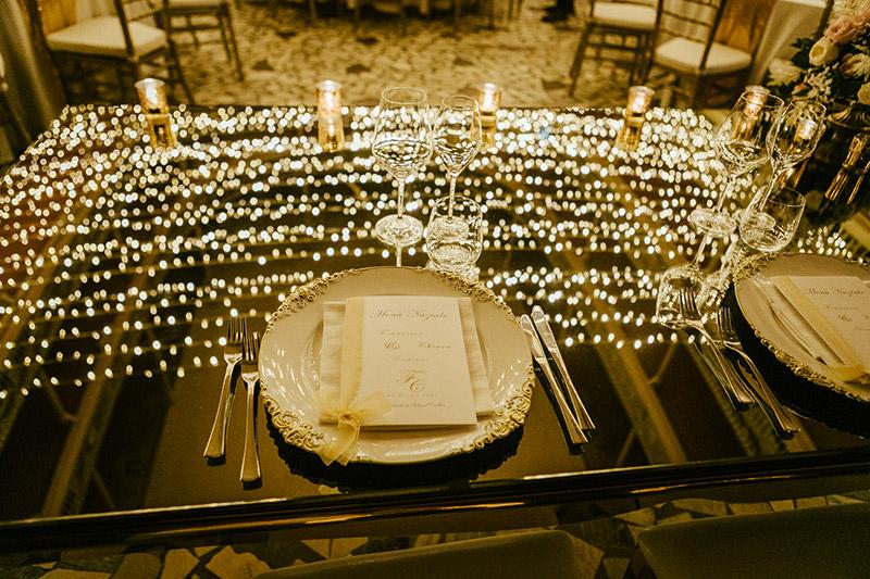 Piatti in stile vintage per le nozze in teatro di Francesca Pittau