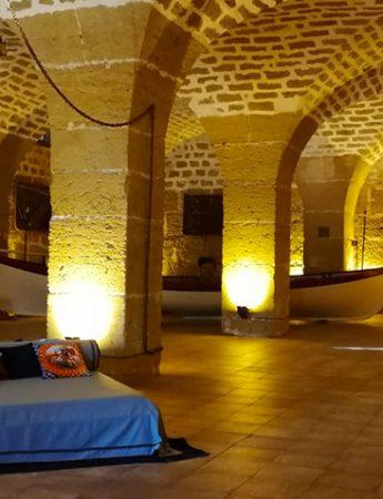 In questo scatto l'interno di Castello di Solanto
