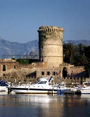 In questa foto una veduta del Castello di San Nicola