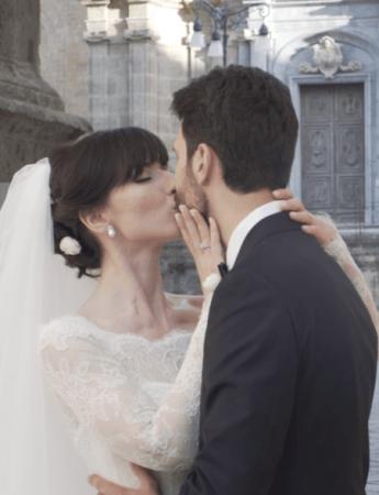 In questa foto un frame di un video matrimonio a Palermo di FixPix Wedding Video