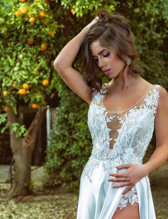 In questa foto un look sposa curato da Paolo Costarelli