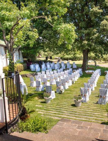 Un matrimonio nel giardino di Case Perrotta