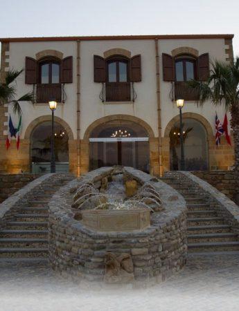 L'esterno di Casale San Leonardo