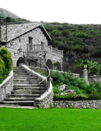 Villa Carollo vista dall'esterno