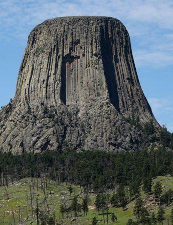 In questa foto la vista dentro un parco nazionale