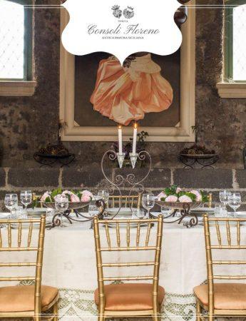 In questa foto un'antica sala della Tenuta Consoli Floreno
