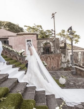 Nella gallery, le fotografie di matrimonio di Anna Scialfa