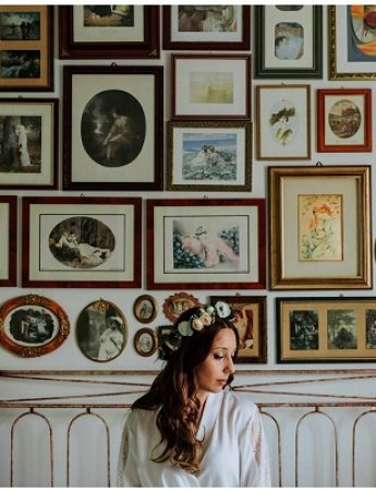 Nella gallery, le fotografie di matrimonio di Deborah Lo Castro