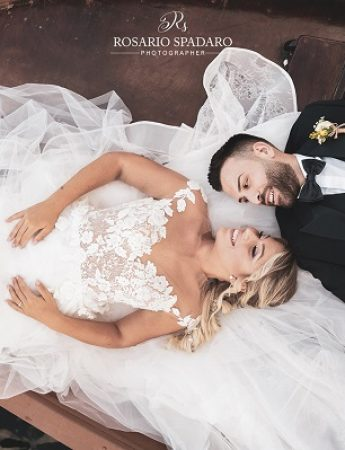 Nella gallery, le fotografie di matrimonio di Rosario Spadaro