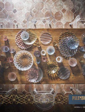 In questa foto una selezione di eleganti articoli per la tavola disponibili da Palumbo e Gigante