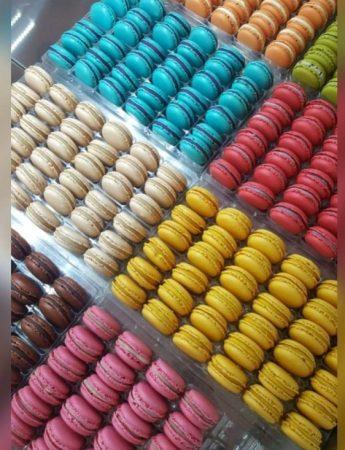 In questa foto i macaron di Sciampagna