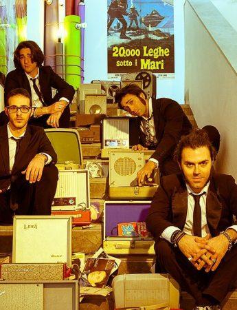 I 4 musicisti dei Jack & the Starlighters
