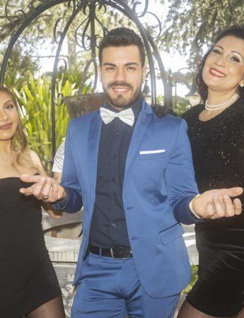 I tre cantanti dei Blue Sound2
