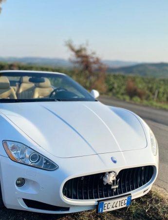 In questa foto una delle auto a noleggio di Fil.Pio