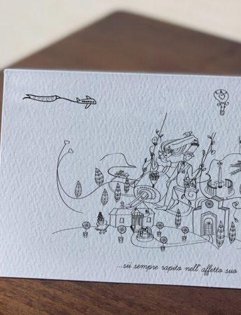 Un biglietto di nozze