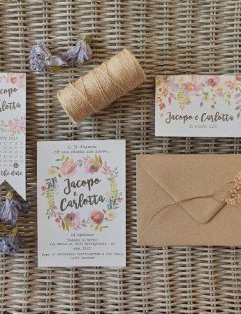 Una Wedding Stationery artigianale