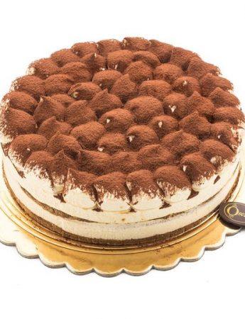 In questa foto una delle torte di Oscar Palermo