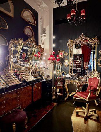 Una foto del salone della Truccheria Cherie
