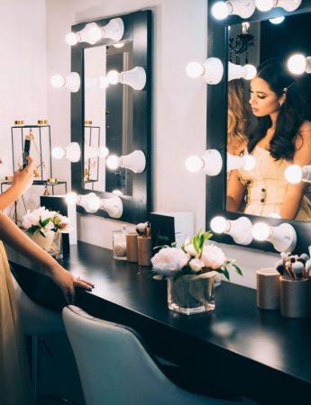 Una sposa nel Salotto del Make-up di Paula Niculita