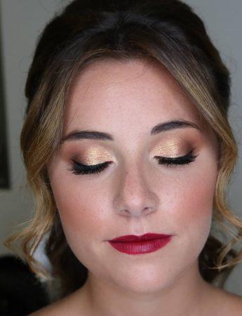 In questa foto un make up sposa realizzato da Federica Schiera