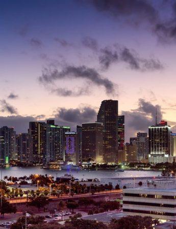 In questa foto una splendida vsta su Miami