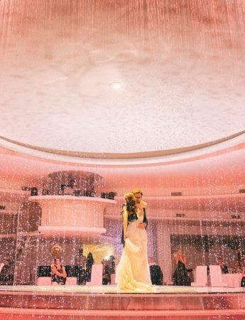 Il ballo degli sposi con effetti e luci speciali