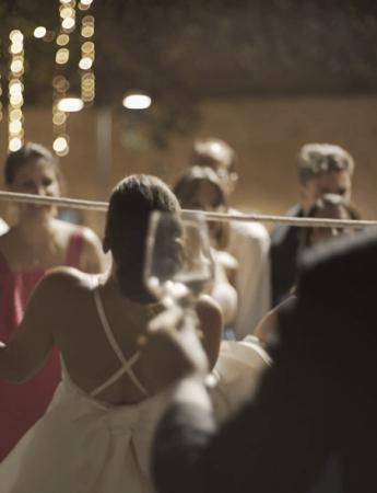 In questa foto scene da un matrimonio nelle riprese di FixPix