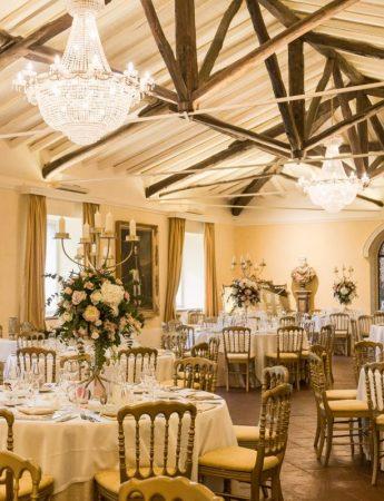 In questa foto gli interni di Villa La Limonaia ad Acireale