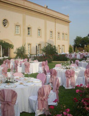 In questa foto un allestimento matrimonio a Villa Bonocore Maletto a Palermo