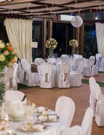 In questa foto un banchetto di matrimonio a Villa Zuccarello