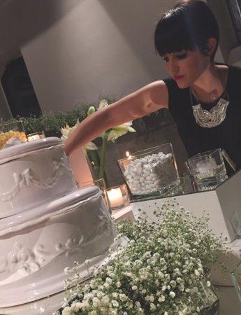 In questa foto la wedding planner di Catania Chiara Cortegiani