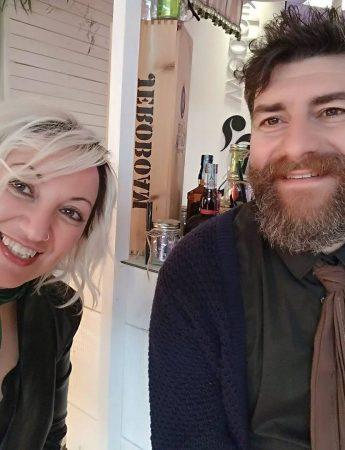In questa foto i wedding planner di Catania Lorenzo ed Helga Fiorito di Noiduewedding